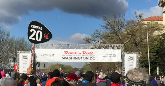 Rock 'n' Roll Washington DC Start Line