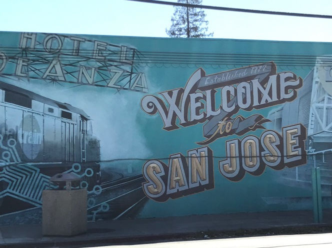 Welcome to San Jose mural